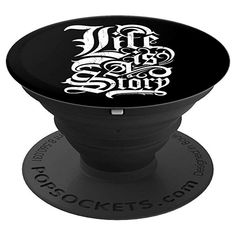 Amazon.com: Life Is A Story Gothic Tattoo Graphic Text Style PopSockets Grip and Stand for Phones and Tablets Gothic Text, Gothic Tattoo, Gift Card Balance, Cell Phone Stand, Tattoo Graphic, Text Style, Text Design, Lilo And Stitch, Love Tattoos