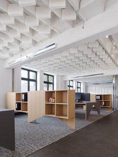 Interesting custom made furniture - Movet Office Loft by SAF - Studio Alexander Fehre