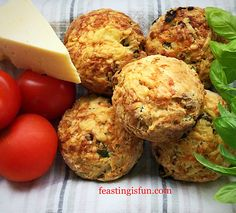Cheddar Sun Dried Tomato Scones with added fresh basil The ultimate savoury scone. Perfect for picnics afternoon tea and packed lunches Absolutely delicious Tea Recipes, Cooking Recipes, Scone Recipes, Picnic Recipes, Picnic Ideas, Recipies, Dessert Recipes, Desserts, Scones Recipe Uk