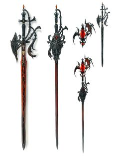 Red Mage Rapier from Final Fantasy XIV: Stormblood