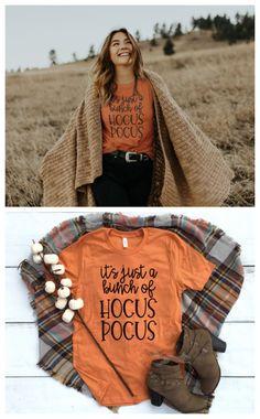 Mom Birthday Gifts Hocus Pocus Halloween t-shirt. Theme Halloween, Halloween Fashion, Halloween Shirt, Fall Shirts, Mom Shirts, Cute Shirts, Fall Winter Outfits, Autumn Winter Fashion, Vinyl Shirts