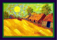 Van Gogh warm colors