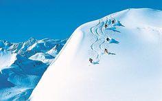 SKI @ the Swiss Alps.