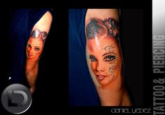 colored woman face tattoo Artista Daniel Yepez  Estamos ubicados en Quito- Ecuador Carrión Oe-123 y 10 de agosto cerca de almacenes la Ganga local de fachada negra Whatsapp 0989812096(Claro) mail: tattookdt@hotmail... Te esperamos Lunes a Sábado de 10:00 a 8:00pm