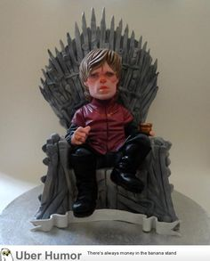 Cake of Thrones finished  - http://www.onlineatlantic.com/cake-of-thrones-finished/