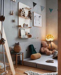 'Homestory: furnishing in warm natural tones Connox's room Homestor … - Modern Baby Room Boy, Baby Room Decor, Bedroom Decor, Bedroom Ideas, Deco Kids, Warm Home Decor, Baby Room Design, Kid Spaces, Cozy House
