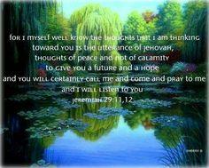 Jeremiah 29:11, 12