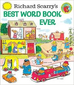 Amazon.com: Richard Scarry's Best Word Book Ever (Giant Golden Book) (0307728304480): Richard Scarry, Golden Books: Books