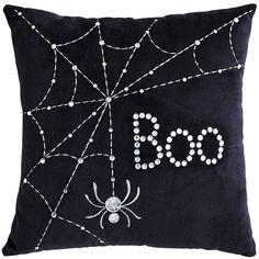 Beaded Mini Boo Glam Pillow | Pier 1 Imports