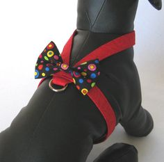 Tiny Red Dog Harness  Dog Harness Amore  Puppy