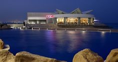 Hilton Doha Hotel, Qatar - Trader Vic's Exterior