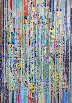 """Saatchi Art Artist Sandrine Marsaud; Painting, """"New Navajo Falls"""" #art"""