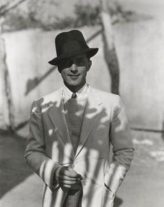 1930s fashion | Tumblr  Phillips Holmes, portrait by George Hoyningen-Huene, c. 1930s