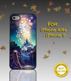 Disney Funny Hakuna Matata - Hard Cover - For iPhone 4 / 4S , iPhone 5 - Black / White Case