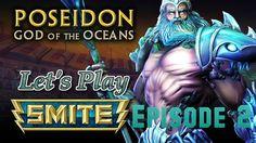 Poseidon Arena 5v5 - Let's Play Smite Xbox one episode 2