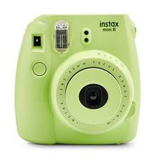 Fujifilm Instax Mini 8 Camera, Margarita Green