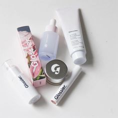 """316 Likes, 15 Comments - Kelsey Dadmun (@dadmunk) on Instagram: """"a few #glossier faves  go to glossier.com/reps/kelsey for 20% off your first order! link is in my…"""""""