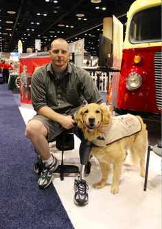 "When America's VetDogs paired Joe with his service dog Benjamin, he found a new support system in his amiable Golden Retriever. The veteran proudly professes, ""Benjamin gave me back my life"". He does everything from bringing Worley his shoes to bracing him when he gets in and out of his wheelchair."