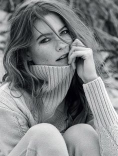 #BehatiPrinsloo for #Italian #knitwear label Stefanel's fall 2013 advertisements photographed by Matt Jones of i-D Magazine