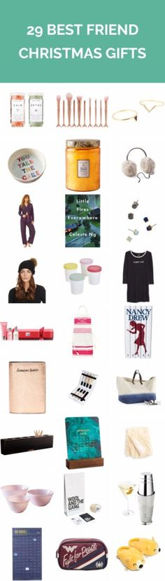 29 Best Friend Christmas Gifts | She's always there when you need her, so show her you care this Christmas season with special gifts that celebrate your bond. Here, unique—and a little bit quirky!—Christmas gift ideas for your best friend that go way beyond the standard fare: