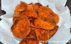 Cartofi dulci prăjiți – mai mult sau mai puțin de post / Fried sweet potatoes