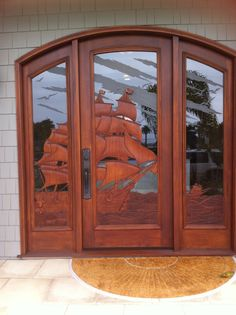 When I have a house by the ocean, this is the door I want! This is in Coronado, CA.