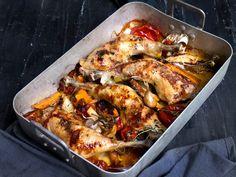 Annonsørinnhold: Her er MENY-kokkens forslag til ukens meny: Uke 8 Easy Baked Chicken Thighs, Root Vegetables, Tex Mex, Pulled Pork, Paella, Chicken Wings, Food And Drink, Turkey, Yummy Food