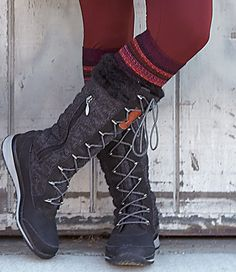 Chill-killing without the clunk. Slide into these cozy boots and say goodbye to cold, heavy feet and hello to sneaker mobility with snowboot protection. Waterproof leather/suede keeps toes dry. Faux-fur lining and gusseted tongue trap heat in and keep slush out. Side zip eases entry. Catalog/web only. 5-10