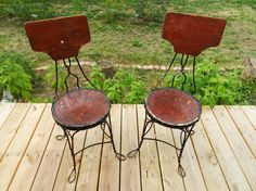 Vintage / Antique Ice Cream Parlor Chair by FerryTaleTreasures, $45.00