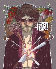 #Hannibal #NBCHannibal #Will #Feast