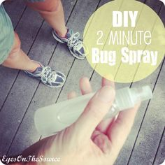 DIY Two Minute Bug Spray