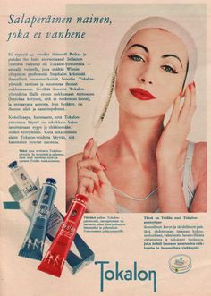 Vintage Ads, Vintage Posters, Old Commercials, Good Old Times, Old Toys, Vintage Beauty, Finland, Nostalgia, Hair Makeup