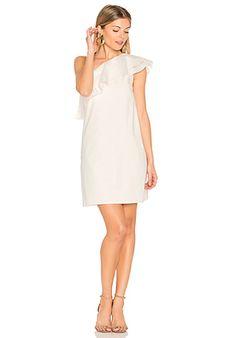 Rachel Zoe Azur One Shoulder Maxi Dress en Black & White   REVOLVE