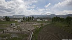 Children play on the demolished site that was once home to Osama bin Laden in Abbottabad. The leader of Al Qaeda was killed a year ago.