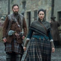 Outlander ,Season 2 , Murtagh & Claire