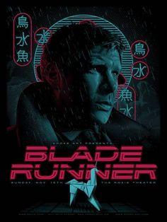 Blade Runner (Ridley Scott, 1972) - Los carteles que nunca viste de las películas más famosas - Libertad Digital