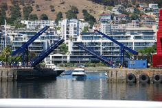 A scene at the V&A Waterfront, Cape Town, South Africa. V&a Waterfront, Nordic Walking, The V&a, Cape Town, San Francisco Skyline, South Africa, Scene, African, World