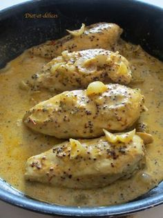 Filet de poulet à la moutarde et au miel Plus