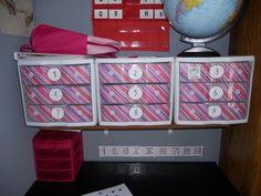 just one tower for a preschool intro to workboxes. Homeschool Curriculum, Homeschooling, Workbox System, Organizing, Organization, Classroom Ideas, Preschool, Tower, Activities