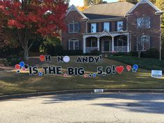 We Deliver Personalized Birthday Greetings To Your Yard The Best Company For Signs In Atlanta