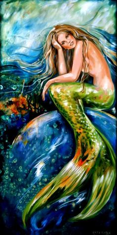 Resting on a Bubble Painting  - Resting on a Bubble Fine Art Print
