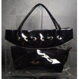 Patent Leather Clear Tote Bag (Black) (Baby Product)  #MileyCyrus #melaniexeinalem