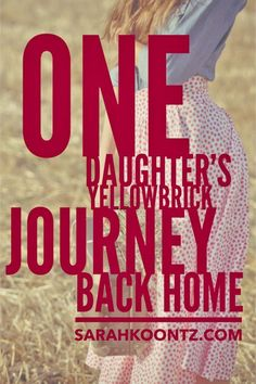 Like Dorothy, my own yellowbrick journey was proceeded by a devastating storm. A twister that ravaged my heart, destroyed my health, and scattered my dreams across the prairie. When the storm clouds rolled away, everything familiar and safe was gone. I wa