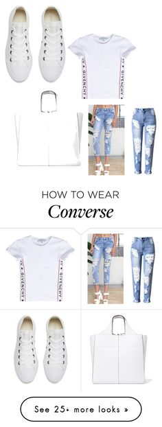 """Untitled #1289"" by lobucks on Polyvore featuring Victoria Beckham, Givenchy and Converse"