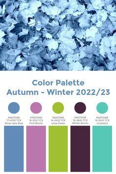 Color Schemes Colour Palettes, Fall Color Palette, Colour Pallette, Color Trends, Color Combos, Color Combinations For Clothes, Winter Mode, Winter Colors, Color Stories