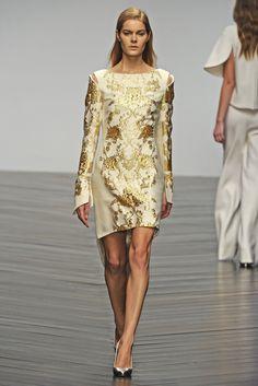 """Osman RTW Fall 2013 - Slideshow - Runway, Fashion Week, Reviews and Slideshows - WWD.com"""