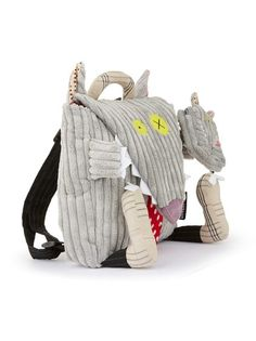 Bigbos the Wolf backpack Les Deglingos (R420)