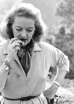 Bette Davis by Lawrence Shiller, 1964.