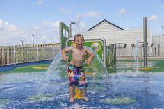Piran Meadows' outdoor splash zone!