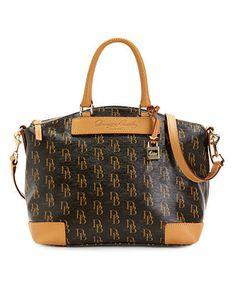 Dooney Bourke Handbag Signature 1975 Satchel Handbags Accessories Macy S